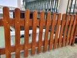 Valla hormigon imitacion madera  - foto