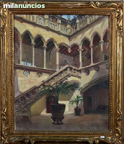 Manuel mora yuste, pintura de palacete - foto 1