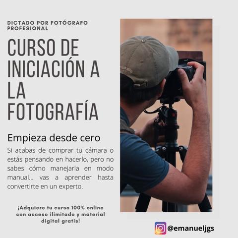 Curso de iniciación a la fotografía - foto 1