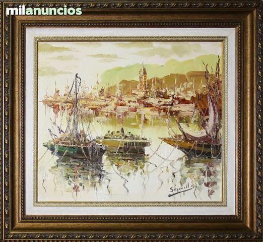 Pintura de antonio segrelles - barcas - foto 1