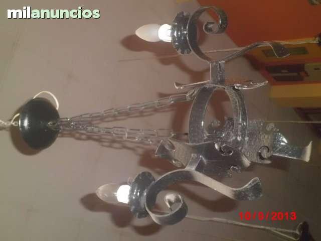 lámpara de techo de 3 brazos castellana. - foto 1