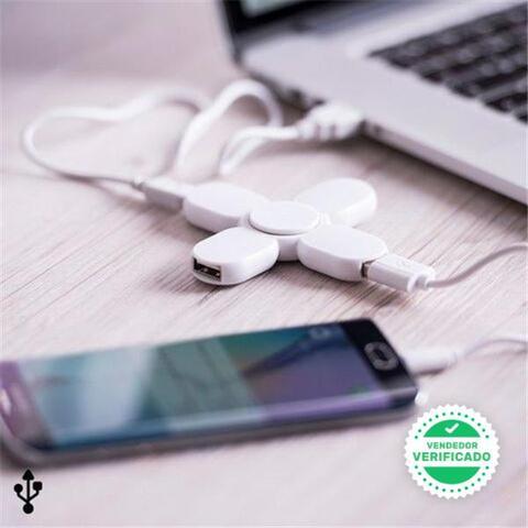 Spinner con 3 Puertos USB - foto 1