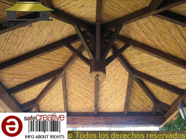 Pergola de brezo ref 95 - foto 1