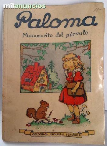 Paloma-manuscrito del parvulo - foto 1