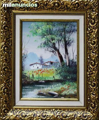 Cuadro de anÓnimo - paisaje con casa - foto 1
