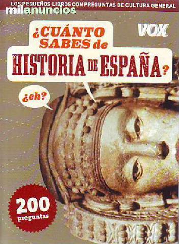 Cuanto sabes de ... historia de espaÑa - foto 1