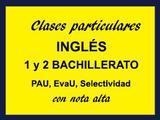 CLASES DE INGLéS PARA 1,2 BACHILLERATO