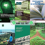 LIBROS ACCESO A MAYORES UNED PDF 2021/22