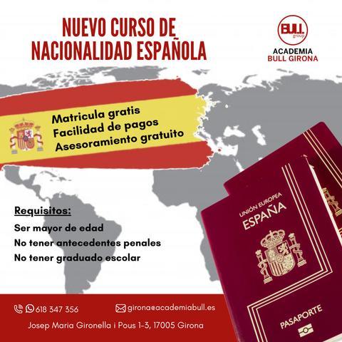 Clases de Nacionalidad española - foto 1