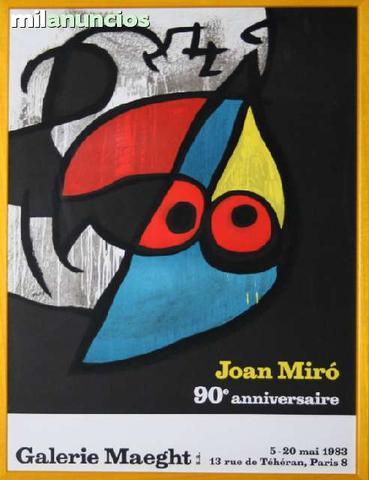 Joan mirÓ - 90 anniversaire - foto 1