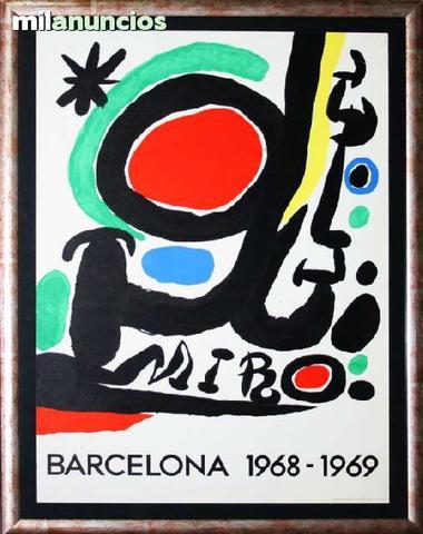 Cartel joan mirÓ - barcelona 1968-1969 - foto 1