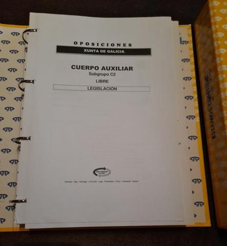 Auxiliar Administrativo Xunta - foto 1