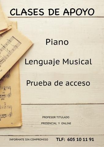 Clases de Apoyo Lenguaje Musical - foto 1