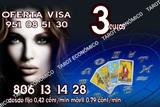 tarot visa 3 euros/ tarot 806 desde 0.42 - foto