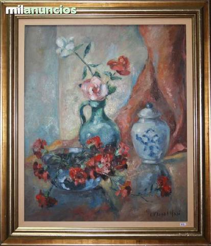 BodegÓn de flores de candid planas masÓ - foto 1