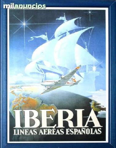 Cartel iberia, estampa conquista - foto 1