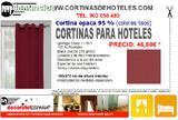 CORTINAS ACúSTICAS M1 PARA HOTELES