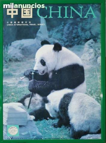 Cartel turÍstico de china - foto 1