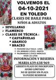 CLASES DE SEVILLANAS, FLAMENCO EN TOLEDO