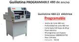 GUILLOTINA PROGRAMABLE 480Z3 - foto