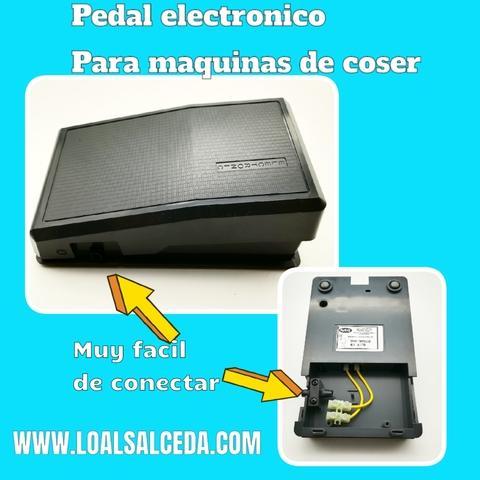 Pedal electronico para mÁquina de coser - foto 1