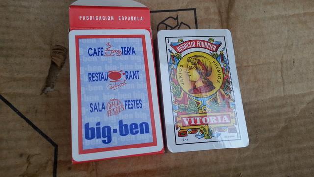 baraja de cartas discoteca big ben - foto 1