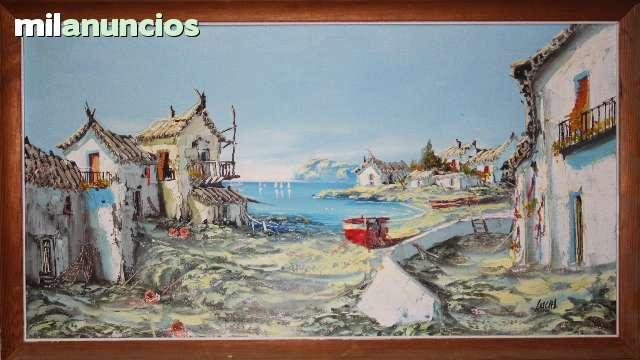 Cuadro de lucas  (pueblo marinero) - foto 1