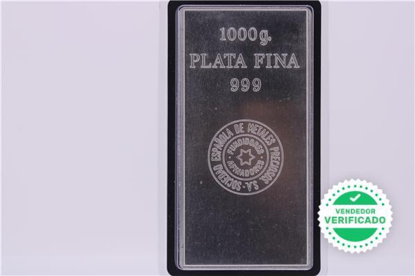 Lingote de plata de 1 kg - foto 1