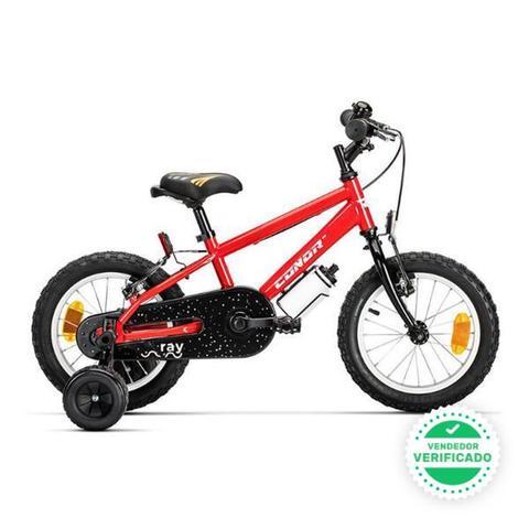 """bicicleta conor ray \""""14\"""" rojo - foto 1"""