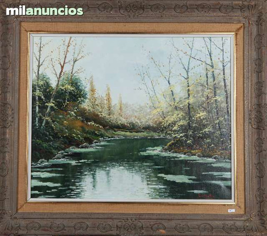 Pintura de mateo gil titulado riu-cerdaÑ - foto 1