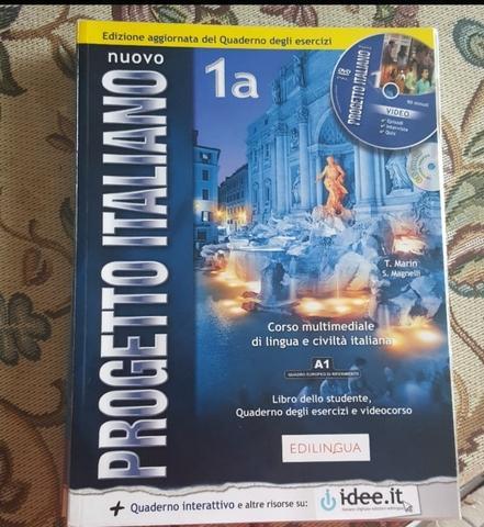 libro primer y segundo curso italiano - foto 1