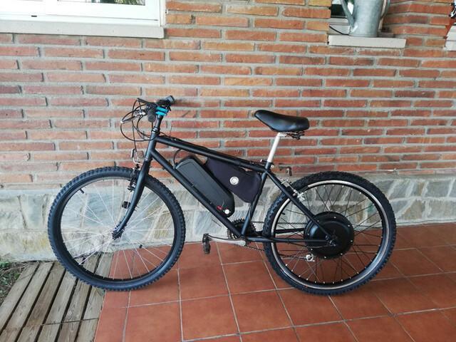 Bicicleta electrica 1000w - foto 1
