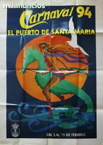 Cartel carnavales puerto de santa marÍa - foto 1