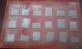COLECCION 18 SELLOS EN PLATA  / ARAGON