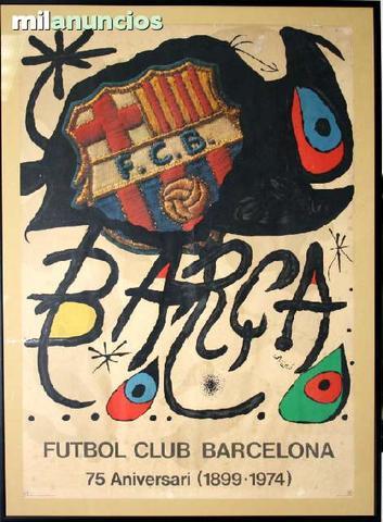 Joan mirÓ - futbol club barcelona - foto 1