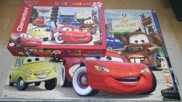 Puzzle Maxi completo cars 104 pzas - foto 1