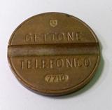 FICHAS DE CABINA TELEFóNICA ITALIANAS