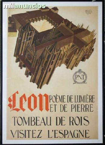 Cartel leÓn: poeme de lumiÉre et pierre - foto 1