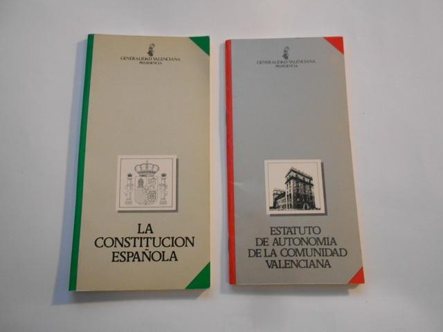 la constitución española y estatut c.val - foto 1