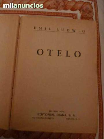 Libro Otelo edición año 1949 - foto 1