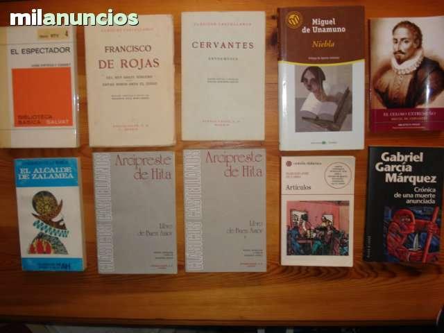 Lote10 clásicos dela literatura española - foto 1