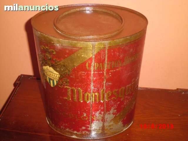 caja  de caramelos montesquiu, barcelona - foto 1