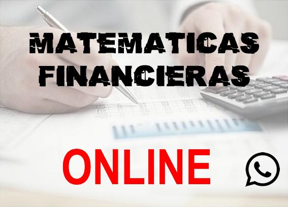 Matemáticas financieras online - foto 1
