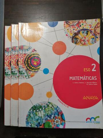 Libro Matemáticas 2 ESO ANAYA - foto 1