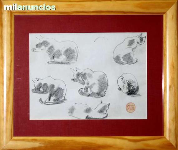 Emilio francÉs sala - apuntes de gatos - foto 1