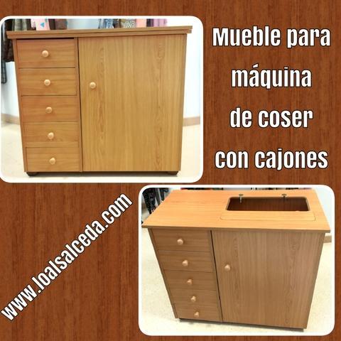 Mueble para mÁquina de coser con cajones - foto 1