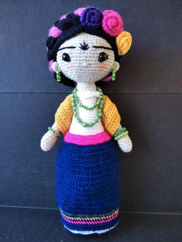Muñeca Frida Kahlo Amigurumi - foto 1