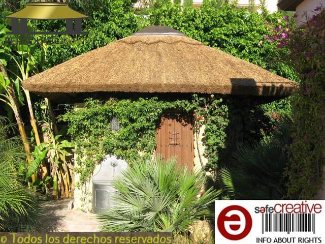 Pergola de junco africano ref 129 - foto 1