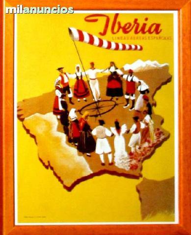 Cartel iberia - sÍmbolo de la uniÓn - foto 1