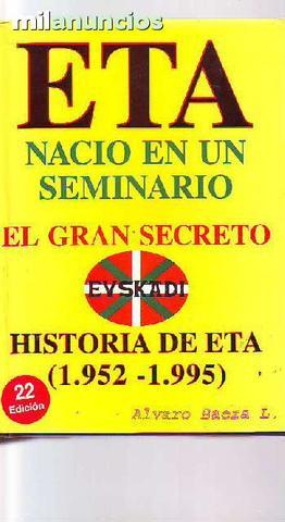 E.t.a. naciÓ en un seminario - foto 1